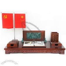 Desk Calendar With Stand Wooden Base Desk Calendar With Memo Holder Clock Extension Type