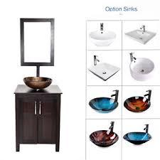 24 Bathroom Vanity With Top 24 Bathroom Vanity Top Cabinet Wood Single Vessel Sink Bowl