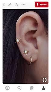 second ear piercing earrings pin by fatima matthews on jewellery piercings