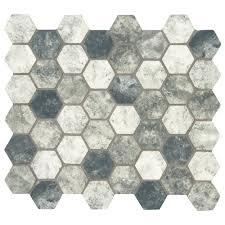 glass mosaic tile tile the home depot