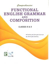 comprehensive functional english grammar and composition for class