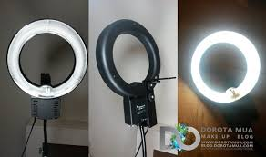 lighting for makeup artists review portable ring light update dorotamua