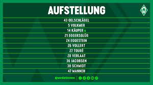 K Henm El In Angebote Startseite Sv Werder Bremen