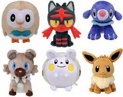 pokemon 20th anniversary small plush victini toys