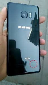 galaxy note 7 fan edition galaxy note 7 name as note fe and with r logo at back case