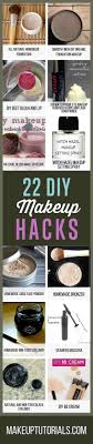 22 diy makeup hacks you wish you knew about by makeup tutorials