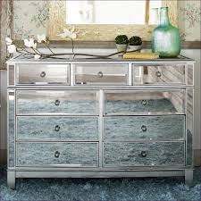 bedroom magnificent mirrored wood nightstand french provincial