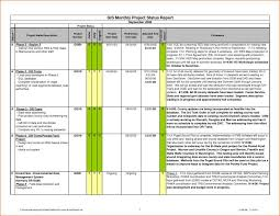 exle management resume project management excel spreadsheet with status report template