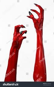 halloween background devil red devils hands red hands satan stock photo 216005905 shutterstock