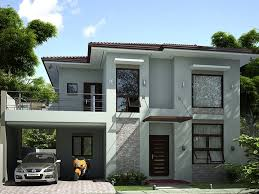 home desig 2 storey simple modern house design 4 home ideas