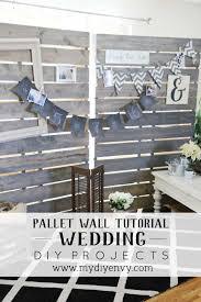 wedding backdrop tutorial diy pallet wall tutorial