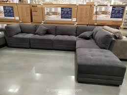 Leather Sectional Sofa Costco 6 Modular Fabric Sectional Costco Lounge Pinterest