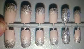 matte glitter fake nails press on nails glue on nails