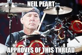 Neil Peart Meme - imgflip