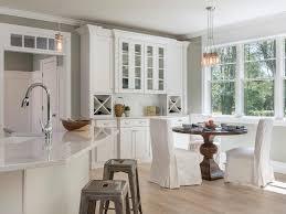 quartz worktop kitchen islwooden peninsula canopy extractor