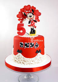 Red Minnie Mouse Cake Decorations 1585 Best Cake Disney Minnie Mouse Images On Pinterest Minnie
