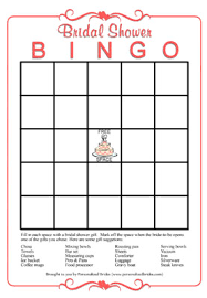 bridal shower gift bingo theming thursday bridal showers shooting mag