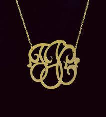 monogram necklaces gold gold monogram necklaces monogram jewelry be monogrammed