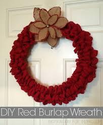 burlap christmas wreath diy christmas burlap wreath inspiration for