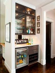Home Bar Cabinet by Small Nature Wood Bar Cabinet For Home Decofurnish