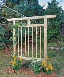 Simple Trellis Ideas Diy Garden Trellis Out Of Pressure Treated Wood And Cattle Fencing