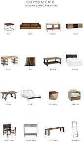 home trends modern cabin furniture copycatchic