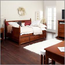 Full Size Bed With Trundle Full Size Bed With Trundle And Storage Drawers Bedding Home