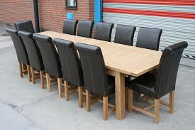 12 Seater Oak Dining Table 12 Seater Dining Tables Modern Home Design