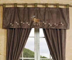 Cabin Style Curtains Wildlife Tracks Moose Valance Cabin Ideas Pinterest Valance