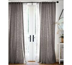decor interesting pottery barn blackout curtains for interior with