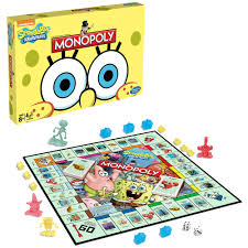 monopoly spongebob edition fun family kids party board game ebay