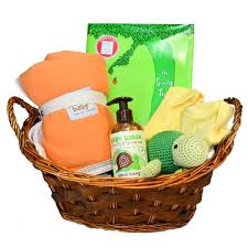 newborn gift baskets organic baby gift baskets bright newborn gifts unisex colors