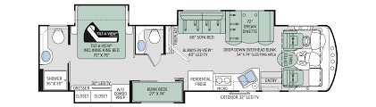 floor plans challenger 37tb bunkhouse