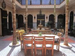 moroccan riad floor plan bed and breakfast in marrakech iha 56614