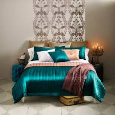 Aqua Bedspread Compare Prices On Solid Green Quilt Online Shopping Buy Low Price