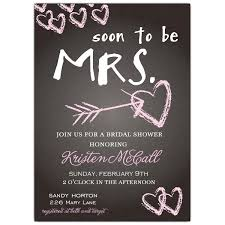 wedding shower invitation chalkboard bridal shower invitations paperstyle