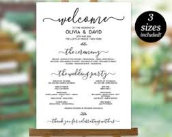 how to do wedding programs wedding program template printable wedding program wedding