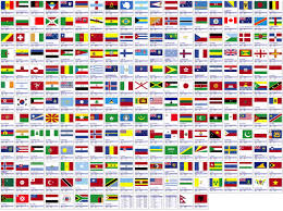 they all use the colors of the various flags they are merely