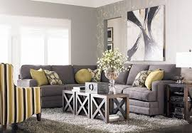 l shape sofa set designs for small living room grey l shaped sofa with modern painting using minimalist furniture