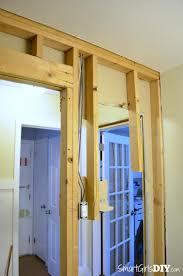 How To Cut Around Door Frames Laminate Flooring How To Install A Pocket Door Johnson Hardware 1510 Series