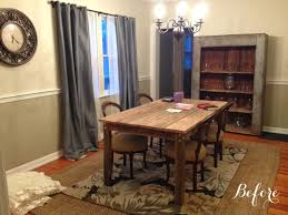chic dining room simply sarah style decorating part 1 a rustic chic dining room