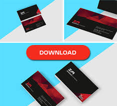 all in one premium business card template design psd