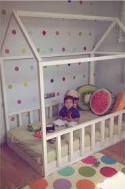 Beds For Kids Rooms by Diy House Frame Floor Bed Plan D I Y House Frame Floor Bed