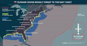 Target World Map by Video Proves Russian Attack Submarines Can Attack Any Target On