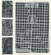 Map Austin Tx Vintage Austin Texas Map Detail