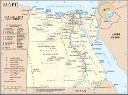 Map Of Egypt In Africa by Www Mappi Net Maps Of Countries Egypt