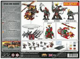 warhammer 40k build paint set space ork raiders 50