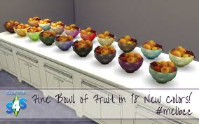 bowl of fruits mod the sims fine bowl of fruit in 18 new colors