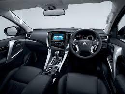 mitsubishi outlander sport interior 2016 mitsubishi pajero sport interior unveiled mitsubishi