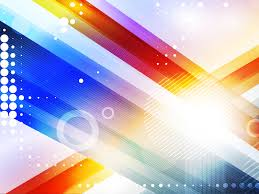 abstract colourful design ppt backgrounds blue brown colors